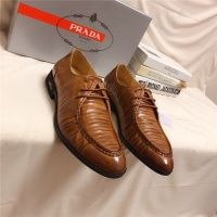 Prada Leather Shoes For Men #528589