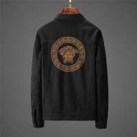 Versace Jackets Long Sleeved Polo For Men #528841
