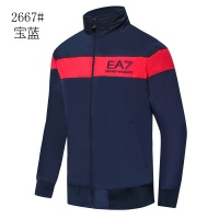 Armani Jackets Long Sleeved Zipper For Men #529081