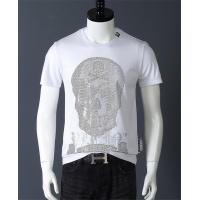 Philipp Plein PP T-Shirts Short Sleeved O-Neck For Men #529222