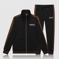 Fendi Tracksuits Long Sleeved Zipper For Men #529455