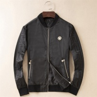 Versace Jackets Long Sleeved Zipper For Men #529818