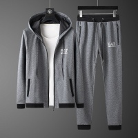 Armani Tracksuits Long Sleeved Zipper For Men #530320