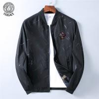 Versace Jackets Long Sleeved Zipper For Men #530651