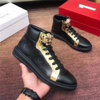 Versace High Tops Shoes For Men #531334