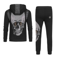 Philipp Plein PP Tracksuits Long Sleeved Zipper For Men #531490