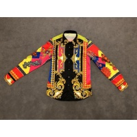 Versace Shirts Long Sleeved Polo For Men #532038