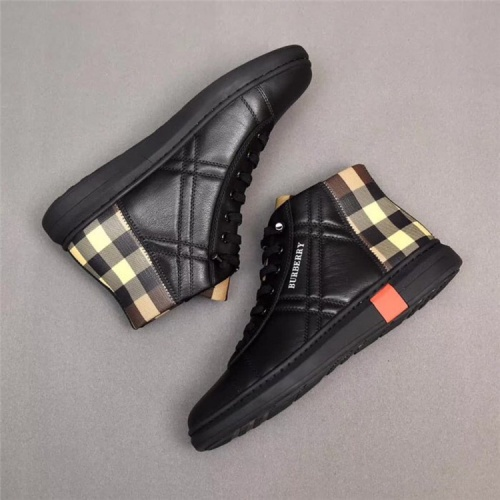 Burberry High Tops Shoes For Men #541507