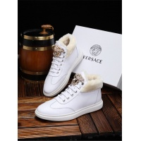 Versace High Tops Shoes For Men #533891