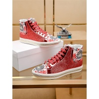 Versace High Tops Shoes For Men #536130