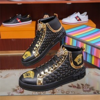 Versace High Tops Shoes For Men #536132