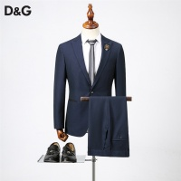 Dolce & Gabbana D&G Two-Piece Suits Long Sleeved Polo For Men #536434