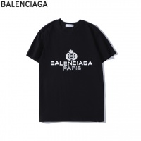 Balenciaga T-Shirts Short Sleeved O-Neck For Men #536599