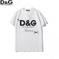Dolce & Gabbana D&G T-Shirts For Unisex Short Sleeved O-Neck For Unisex #536786