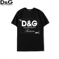 Dolce & Gabbana D&G T-Shirts For Unisex Short Sleeved O-Neck For Unisex #536787