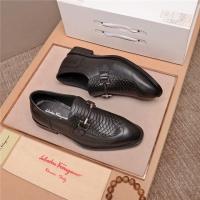 Ferragamo Salvatore FS Leather Shoes For Men #537140