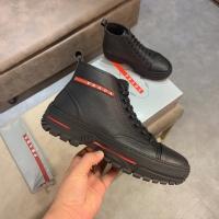Prada High Tops Shoes For Men #537336