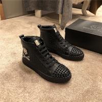 Philipp Plein PP High Tops Shoes For Men #537614
