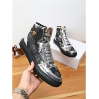 Versace High Tops Shoes For Men #538410