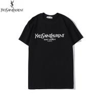 Yves Saint Laurent YSL T-shirts For Unisex Short Sleeved O-Neck For Unisex #538564