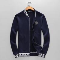 Philipp Plein PP Tracksuits Long Sleeved Zipper For Men #538886