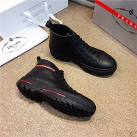 Prada High Tops Shoes For Men #539237