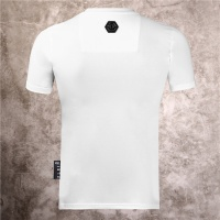 Cheap Philipp Plein PP T-Shirts Short Sleeved O-Neck For Men #540989 Replica Wholesale [$31.04 USD] [W#540989] on Replica Philipp Plein PP T-Shirts