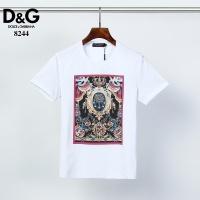 Dolce & Gabbana D&G T-Shirts Short Sleeved O-Neck For Men #541081