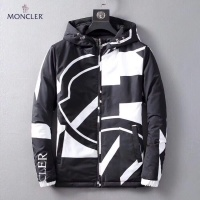 Moncler Down Feather Coat Long Sleeved Zipper For Men #541463
