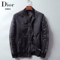 Christian Dior Cotton Coats Long Sleeved Zipper For Men #541480