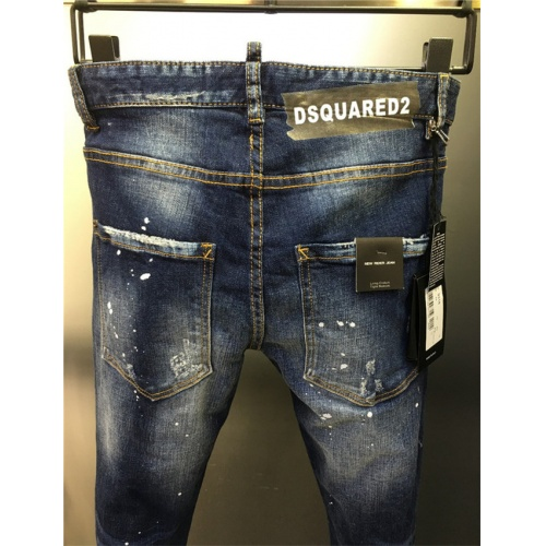 Cheap Dsquared Jeans Trousers For Men #542602 Replica Wholesale [$50.44 USD] [W#542602] on Replica Dsquared Jeans