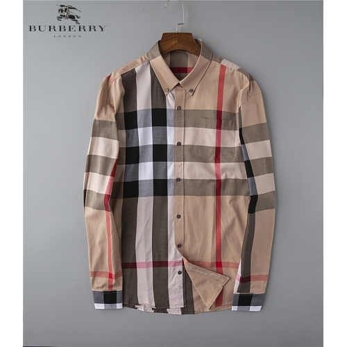 Burberry Shirts Long Sleeved Polo For Men #543261