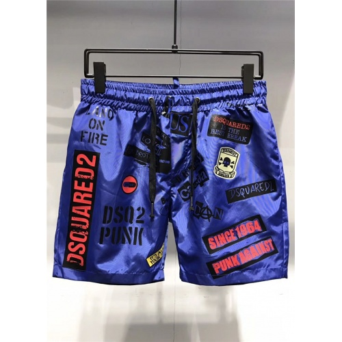 Cheap Dsquared Beach Pants Shorts For Men #548238 Replica Wholesale [$32.98 USD] [W#548238] on Replica Dsquared Pants