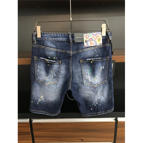 Cheap Dsquared Jeans Shorts For Men #549583 Replica Wholesale [$48.50 USD] [W#549583] on Replica Dsquared Jeans