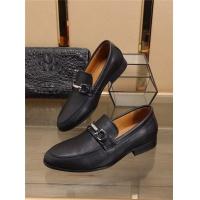 Ferragamo Salvatore FS Leather Shoes For Men #541968