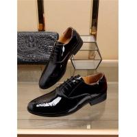 Ferragamo Salvatore FS Leather Shoes For Men #541969