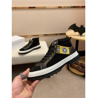 Versace High Tops Shoes For Men #542495