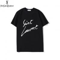 Yves Saint Laurent YSL T-shirts For Unisex Short Sleeved O-Neck For Unisex #542814