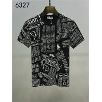 Christian Dior T-Shirts Short Sleeved O-Neck For Men #543416