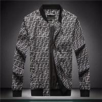 Fendi Jackets Long Sleeved Zipper For Men #544132