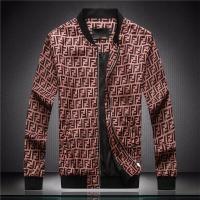 Fendi Jackets Long Sleeved Zipper For Men #544133