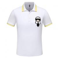 Fendi T-Shirts Short Sleeved Polo For Men #544281