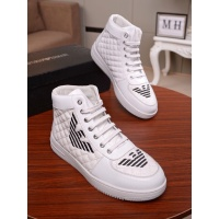 Armani High Tops Shoes For Men #545694