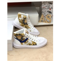 Versace High Tops Shoes For Men #546431