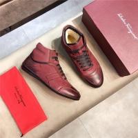 Ferragamo Salvatore FS High Tops Shoes For Men #546641