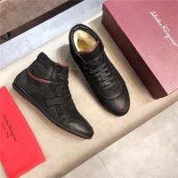 Ferragamo Salvatore FS High Tops Shoes For Men #546642