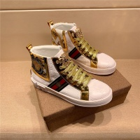 Versace High Tops Shoes For Men #546722