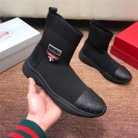 Prada High Tops Shoes For Men #547146