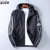Christian Dior Jackets Long Sleeved Zipper For Men #547588