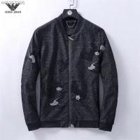 Armani Jackets Long Sleeved Zipper For Men #547589